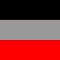 Black/Silver/Red