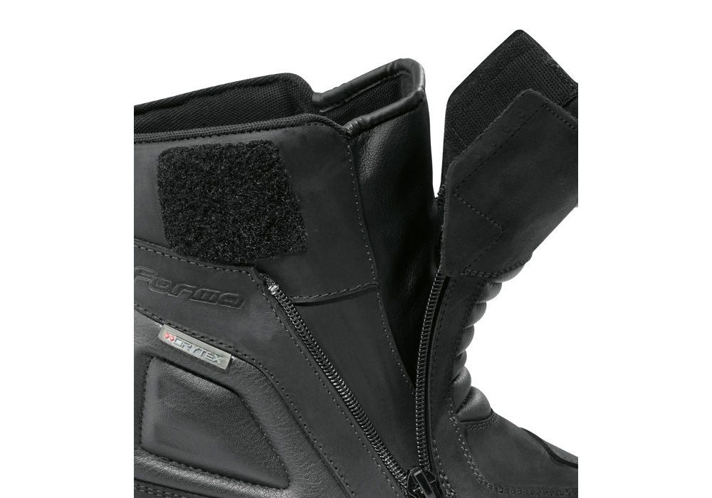 FORMA Voyage WP Motorcycle Boots CE Approved Black