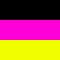 Black/Fuchsia/Yellow Fluo